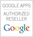 Badge Google Apps authorized reseller